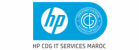 logo HP-CDG IT Services Maroc
